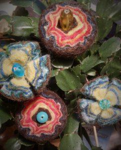 Kugelblumen aus Walliser Schwarznase